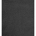 Fleece Fabric, Solid Charcoal Color, 58/60